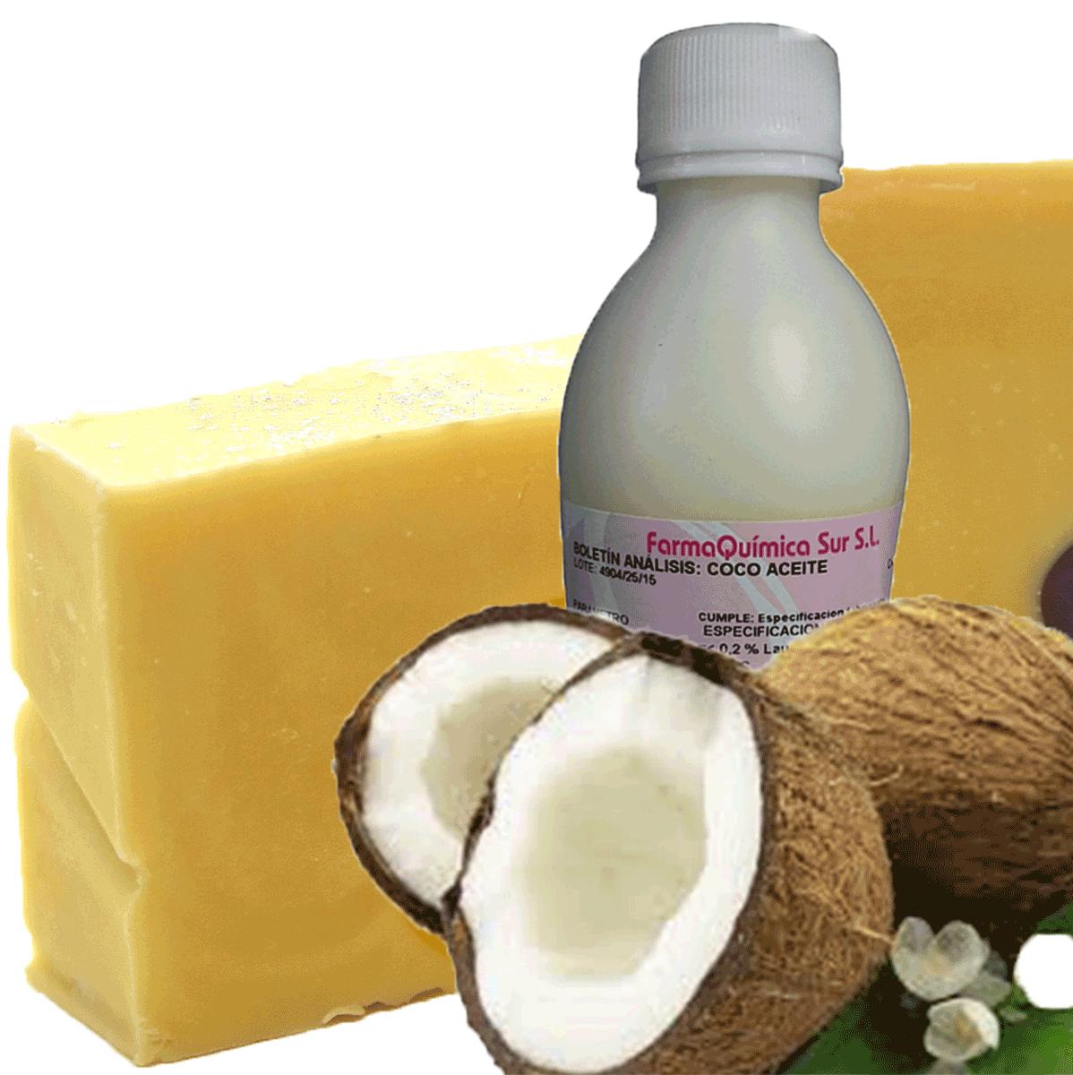 jabon aceite de coco