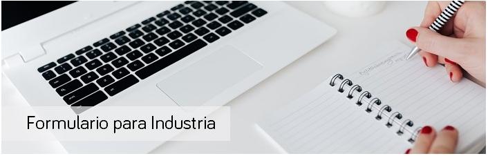 Formulario para Industria